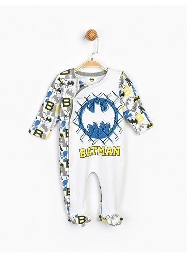 Batman  Patikli Bebek Tulum 16410 Beyaz